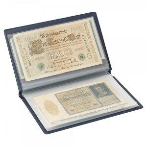 Taschenalbum für Banknoten und Belege bis 210x125mm LINDNER S818