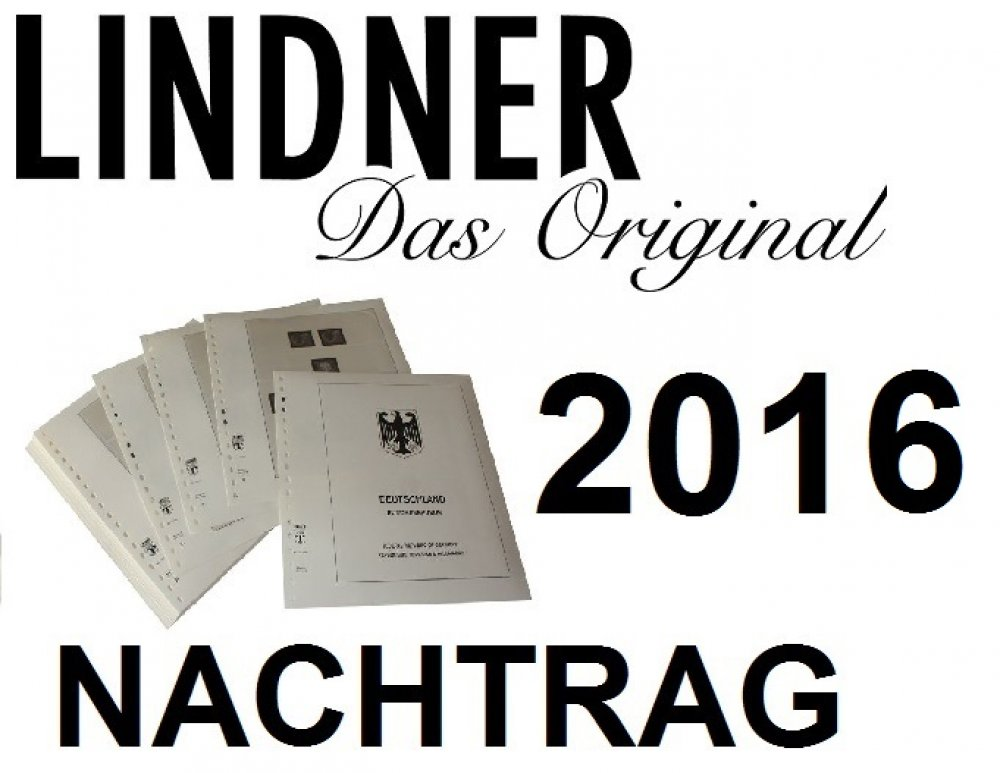 T-Vordruckblätter Deutschland BRD 2016 Lindner T120b/15 2016