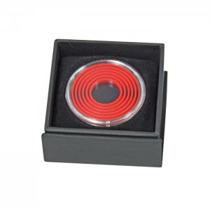 Münzetui  60x60x25 für Münzen bis 39mm Lindner EXPO 2073