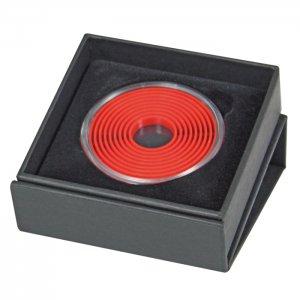 Münzetui  80x80x25 für Münzen bis 51mm Lindner EXPO 2074