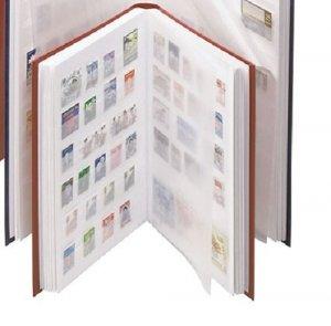 Einsteckbuch 16 weiße Seiten A5 LINDNER 1158