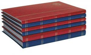 Einsteckbuch 32 schwarze Seiten Lotos LINDNER 5702