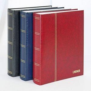 Einsteckbuch 64 schwarze Seiten Elegant LINDNER 1179