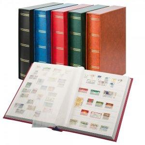 Einsteckbuch 60 weiße Seiten MIT Kassette LINDNER 1162SK