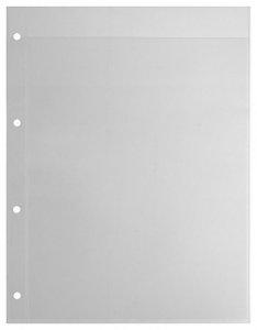 Einsteckblätter A4 glasklar 1 Tasche Kobra E11