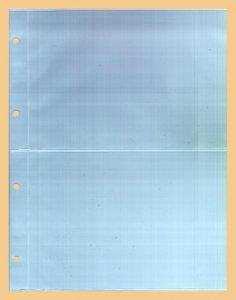 Einsteckblatt 10 Stück KOBRA G52E