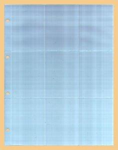 Einsteckblatt 10 Stück KOBRA G59E
