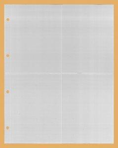 Einsteckblatt 10 Stück KOBRA G64E