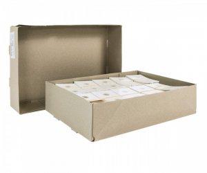 Münzrähmchen 67x67mm zum Heften VPE 1000 Stück HARTBERGER®