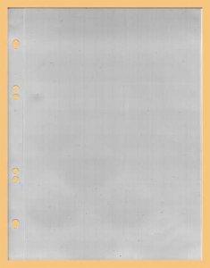 Ersatzblatt   ungeteilt DIN A5 PP-Folie KOBRA G17E