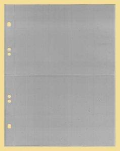 Ersatzblatt  geteilt DIN A6 Hartfolie KOBRA G182E
