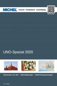 MICHEL UNO Spezial 2020 Briefmarkenkatalog