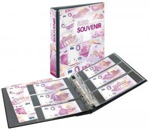 "PUBLICA M  Ringbinder ""Euro Souvenir"" Souvenierschein Lindner 3538"