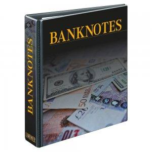 PUBLICA M Ringbinder Banknotendesign LEER Lindner 3537R