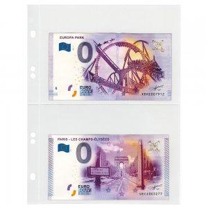 KARAT Geldscheinblätter klar 10 Stück Lindner K02