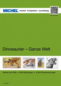 MICHEL Motivkatalog Dinosaurier Ganze Welt 2019 2020 Briefmarkenkatalog