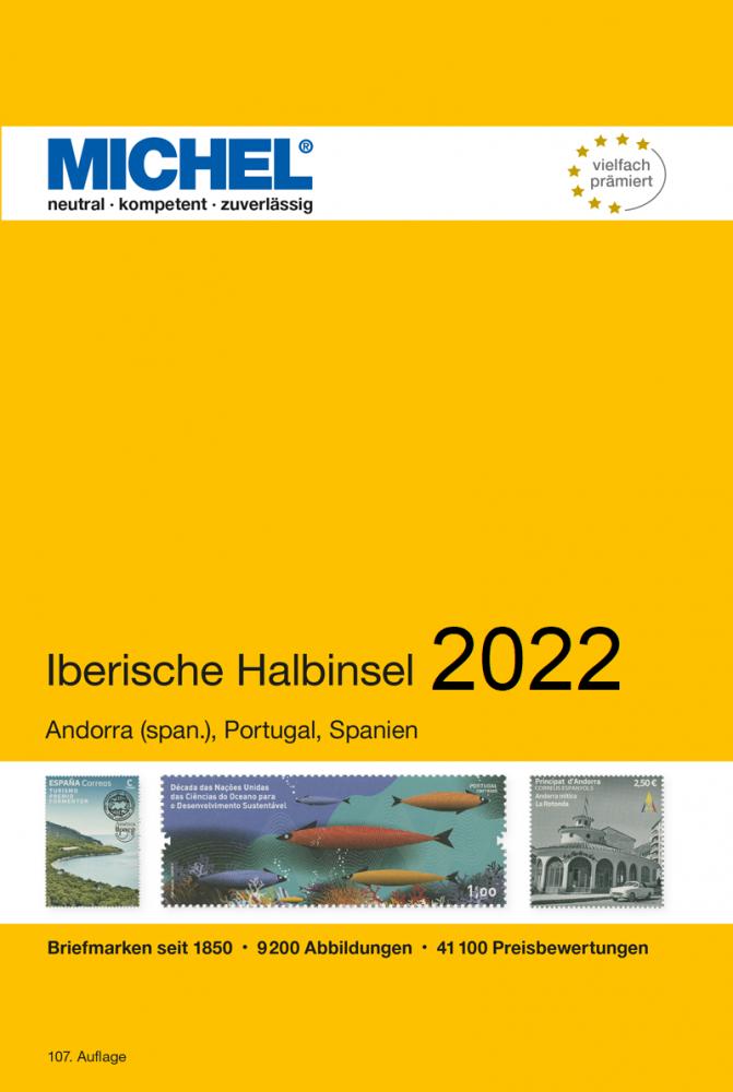 MICHEL Europa Katalog  E4 Iberische Halbinsel 2021 Briefmarkenkatalog