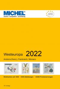 MICHEL Europa Katalog E3 Westeuropa 2020 Briefmarkenkatalog