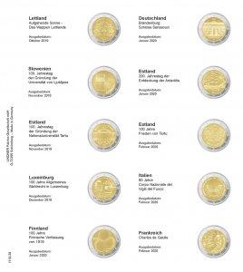 KARAT Vordruckblatt 2€ Lindner 1118-28