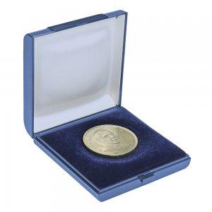 Münzetui  80x80x20 für Münzen bis 60mm Lindner 2007