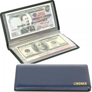 Taschenalbum für Banknoten und Belege bis 175x185mm LINDNER S817