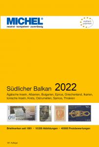 MICHEL Europa Katalog  E7 Südlicher Balkan 2021 Briefmarkenkatalog