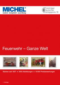 MICHEL Motivkatalog Feuerwehr - Ganze Welt Briefmarkenkatalog