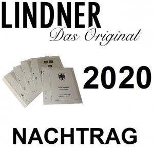 T-Vordruckblätter Deutschland BRD Nachtrag 2020 Lindner 120B-20-2020