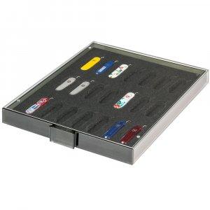 Sammelbox Präsentationsbox Taschenmesser 58mm VICTORINOX* Modell CLASSIC Lindner 2874